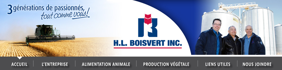H.L Boisvert inc. - Alimentation animale et production végétale